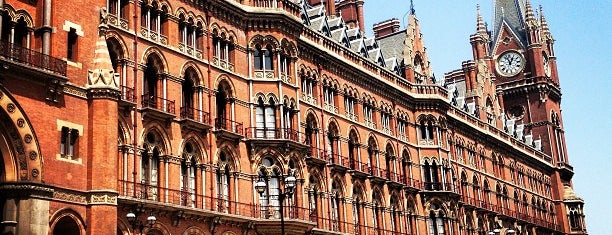 St. Pancras Renaissance Hotel London is one of Ren.
