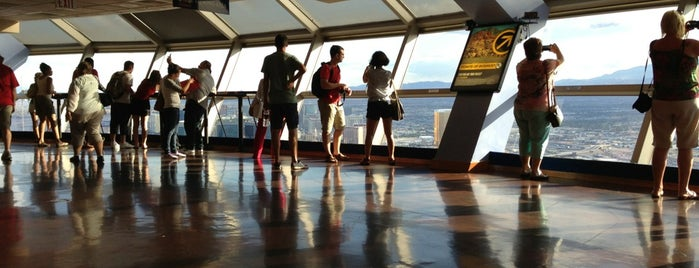 Stratosphere Tower Observation Deck is one of The 15 Best Places for Sunsets in Las Vegas.