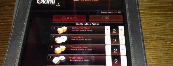 Okinii sushi & grill is one of Mainz♡Wiesbaden.