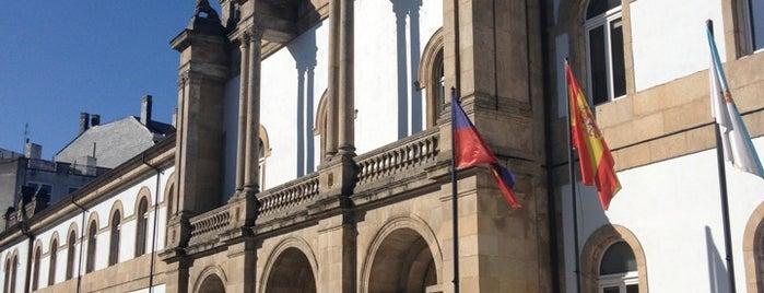 Praza Soidade is one of Lugares que visitar en Lugo.