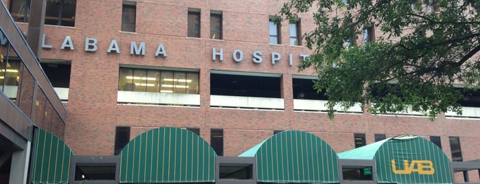 UAB Hospital is one of Work.