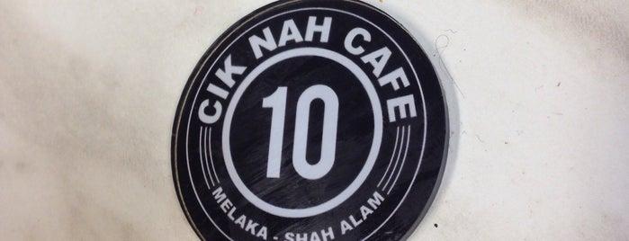 Cik Nah Cafe, Mahkota Parade is one of Makan @ Melaka/N9/Johor #15.