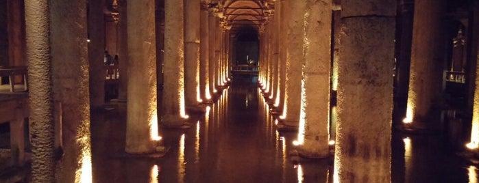 Basilica Cistern is one of My Istambul.