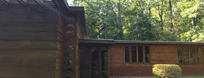Frank Lloyd Wright's Pope-Leighey House is one of Virginia.