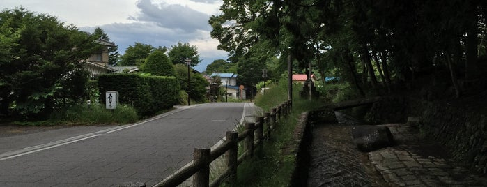 追分宿高札場 is one of 201405_中山道.