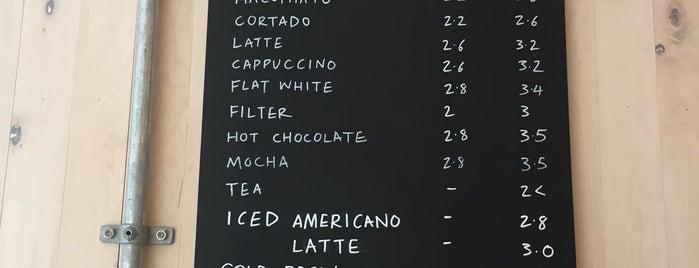 MacIntyre Coffee is one of London Calling: LDN To Do.