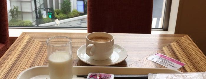 ボンサルーテ・カフェ is one of 食べ放題.