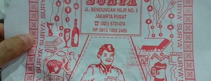 SURYA Restaurant is one of Jakarta.