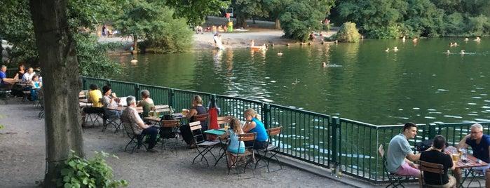 Badestelle Schlachtensee is one of Best sport places in Berlin.