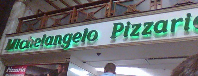 Pizzaria Michelangelo is one of Shopping Center Norte.