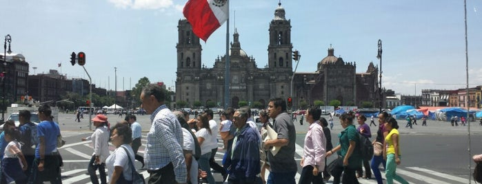 Plaza 20 de Noviembre is one of Capitalino..