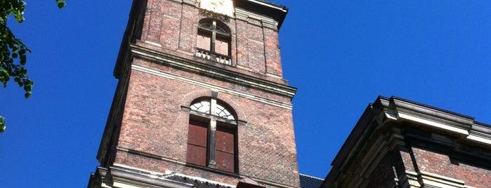 Vor Frelsers Kirke (Church of Our Saviour) is one of Copenhagen.