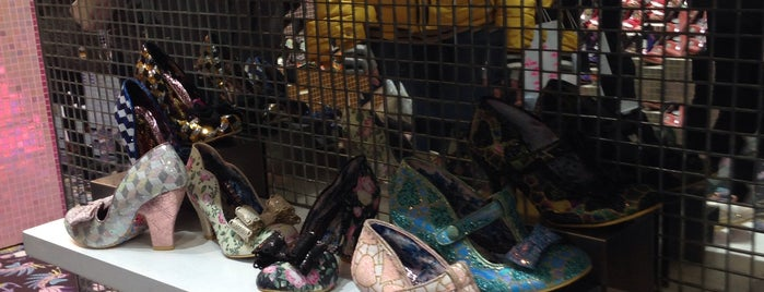 Irregular Choice is one of The Fashionista's Guide to London, UK.