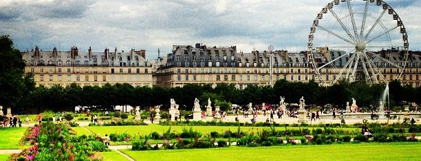 Tuileries Garden is one of Paris.