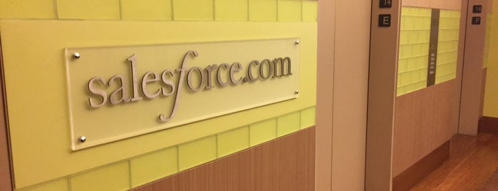 Salesforce.com is one of Silicon Valley Tech Companies.