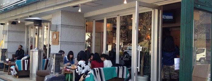 BONDI CAFE Yoyogi Beach Park is one of free Wi-Fi in 渋谷区.