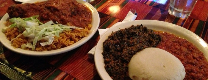 Ghana Cafe is one of DC To Do - Eat.