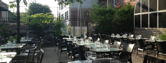 Italian Restaurant Rue St Laurent Montreal