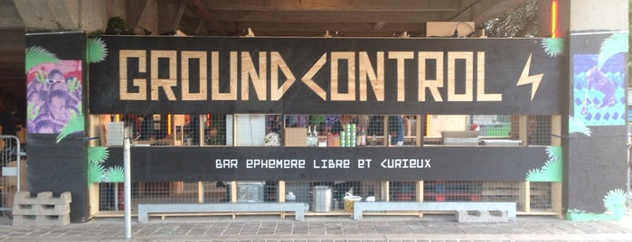Ground Control is one of paris dive bars.