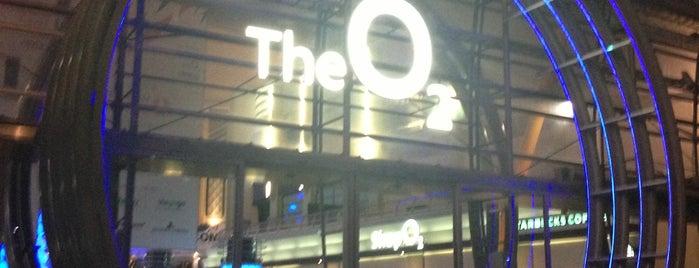 The O2 Arena is one of Nemzetközi kocsmalista.