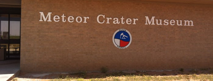 Odessa Meteor Crater and Museum is one of West Texas: Midland to El Paso.