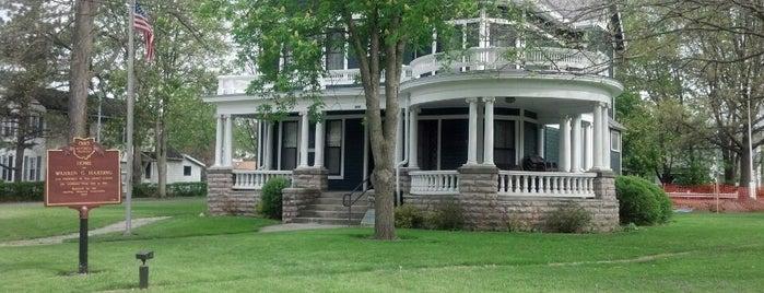Warren G Harding House Museum is one of Mr. President, Mr. President....