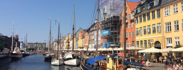 Nyhavn is one of Kodaň!.
