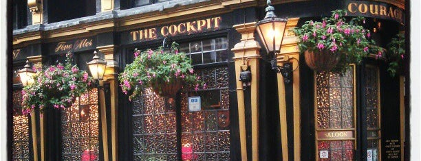 The Cockpit is one of London Pint.