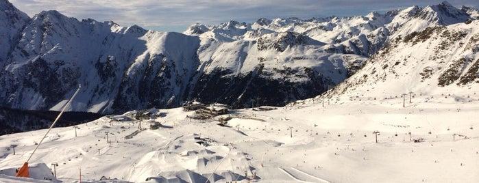 Silvretta Ski Arena is one of giove.