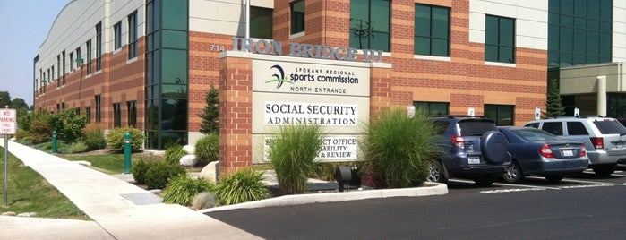 Social Security Office is one of Visited Here.