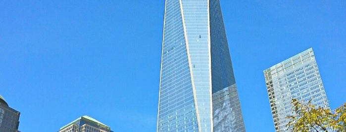 One World Trade Center is one of Architecture - Great architectural experiences NYC.