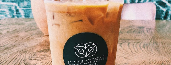 Cognoscenti Coffee is one of To drink California.