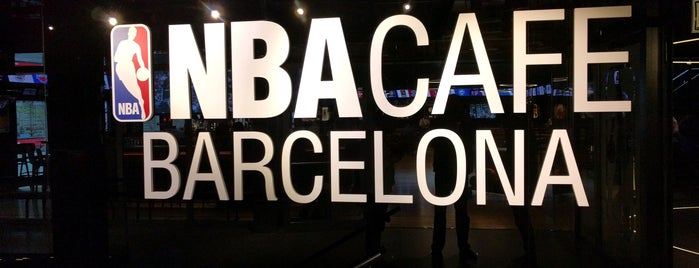 NBA Cafe Barcelona is one of M&M Barcelona centre.