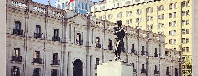 Palacio de La Moneda is one of Stgo. City.