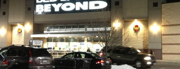 Bed Bath & Beyond is one of just a list of places.