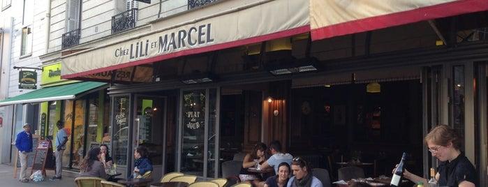 Chez Lili et Marcel is one of Lloyd's Paris.