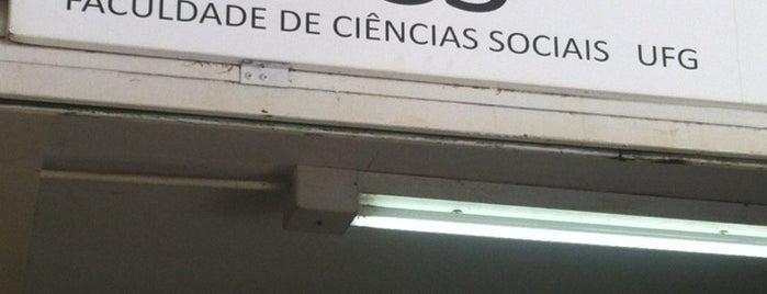 Faculdade de Ciências Sociais is one of UFG (Câmpus II).
