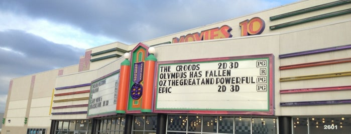Cinemark Movies 10 is one of All-time favorites in United States.