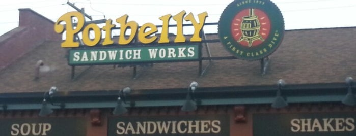 Potbelly Sandwich Shop is one of Dearborn.