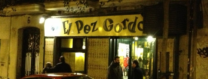 El Pez Gordo is one of Malasaña - bares, restaurantes y cafés.