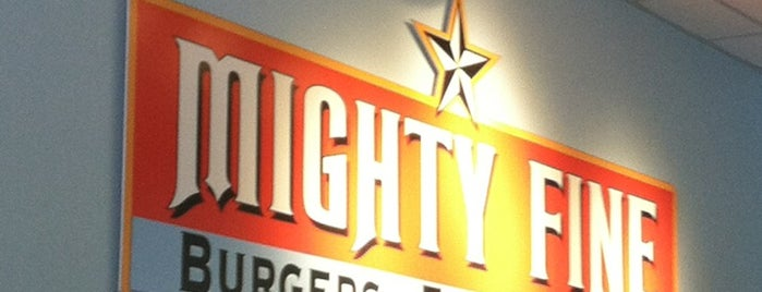 Mighty Fine Burgers is one of Austin.