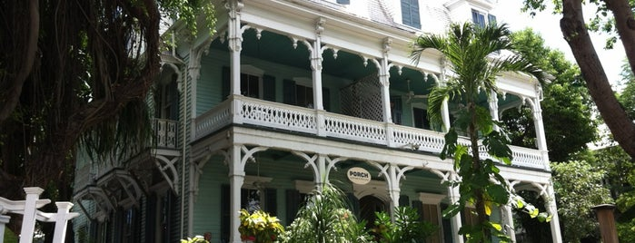 The Porch is one of The 15 Best Places for People Watching in Key West.