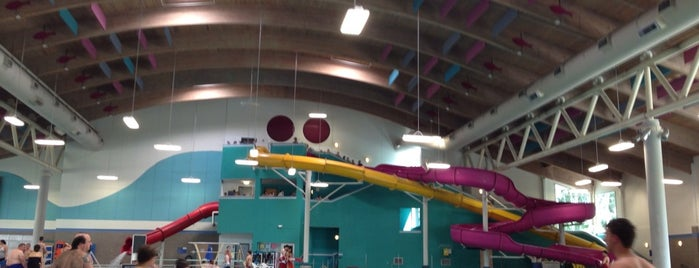 North Clackamas Aquatic Park is one of My inside attractions.