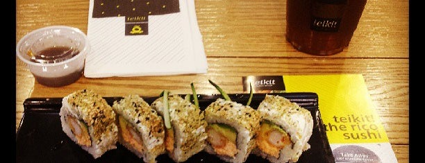 Teikit Sushi Shop is one of ASIATICA.