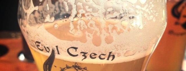 Evil Czech Brewery and Public House is one of Chicagoland Breweries.