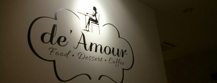 de' Amour Cafe is one of PJ Favourites.
