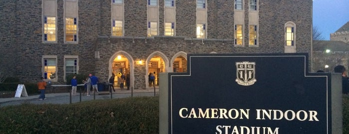 Cameron Indoor Stadium is one of Events To Visit....