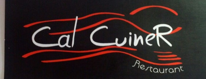 Cal Cuiner is one of Restaurants de Catalunya.