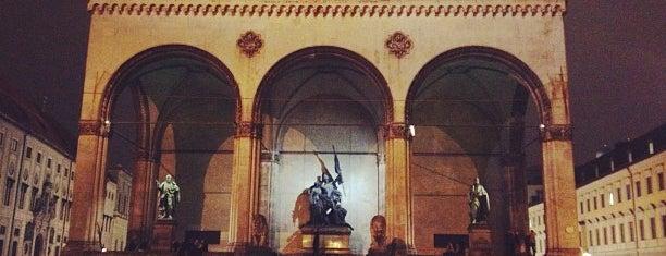Odeonsplatz is one of Munich Sights.