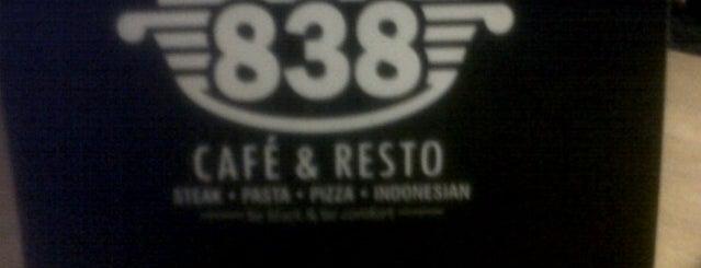 838 Café & Resto is one of Foodplace @ Jatinangor.
